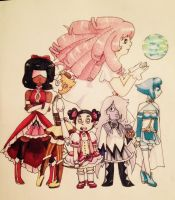Madoka Magica x Steven Universe Finished by Winged-CatGirl-Kin