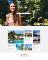 Travel Agency - Responsive Hotel Online Booking by DaJyDesigns