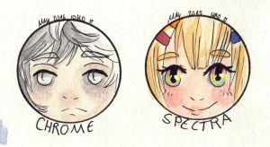 gift: Chrome and Spectra by mini-i