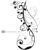 Vector Floral Design 7 by 123freevectors