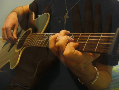 Hand On My Guitar: a by DancesWithFreedom