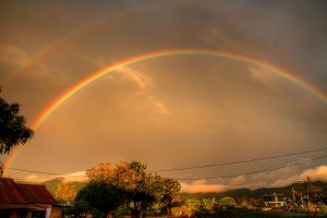 Double Rainbow of Sungai Burung, Penang by fighteden