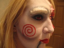 Jigsaw make up- attempt 2 by sazmullium