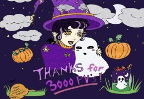 Halloween_and_Thank You_3K by korychan