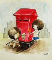 RedPostbox by PikAe