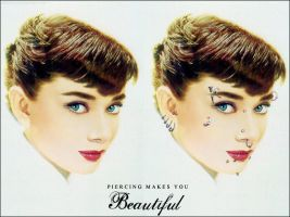 Piercing Makes You Beautiful by Fritters