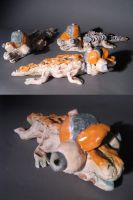 clay gators by InfamouslyDorky