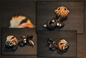 Lion Dragon by KirstenBerryCrafts