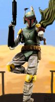 The Fett Man Cometh by Chenguin