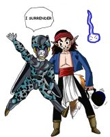 Kajika U2 VS Cell Jr U17 by superchiaragirl