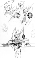Blurr sketches by LyricaBelachium