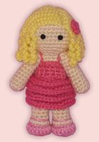 Amigurumi Galinda by ShadyCreations