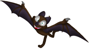 Rocko the Vampire Bat by Yo-Snap