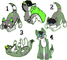 Cassiel x Unnamed Litter - Closed by KittehzAdopts