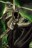 Witch King of Angmar by FallenDaw