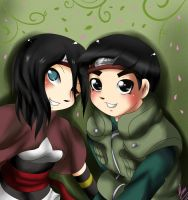 CM:Ameni and Rock Lee by xXUnicornXx
