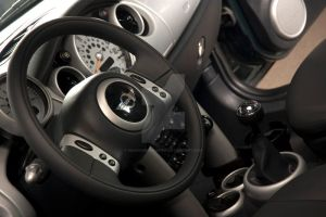 Mini Coop Interior by searching4sumthn