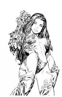 witchblade by waitedesigns