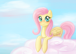 MLP: Fluttershy by lady-largo