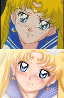 Redraw - Sailor Moon by selinmarsou