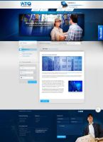 ATQ - site for logistic company by webdesigner1921