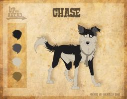 Chase - Character Sheet by Skailla