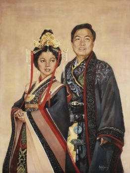 Traditional Chinese Portrait by AdamAntaloczy