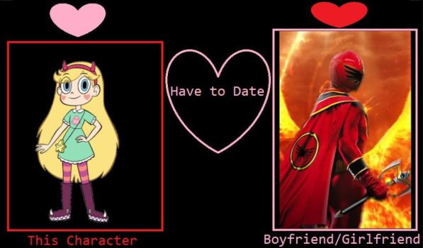 What if Star Butterfly dates MagiRed (Kai Ozu) by VanossFan28