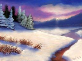 Snow Scene 14 by ghost549