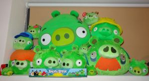 Army of plush Piggys 24 july 2012 by Gallade007