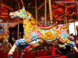 Merry-go-round Horse by sophierevell