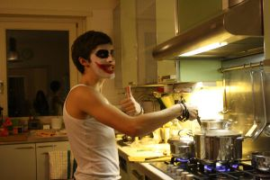 Joker cooking pasta by you95100