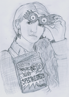 Luna Lovegood by GoldenPhoenix75