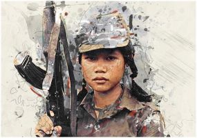 Child Soldier by URBANDESIGNERS