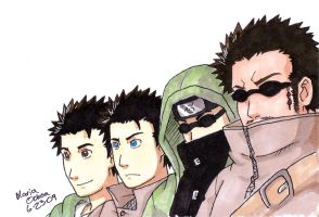 Aburame Generations by agra19