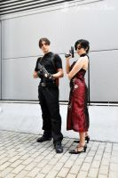 Leon S.Kennedy And Ada Wong by PrincessRiN0a