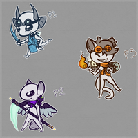 Leetle Adventurers by TheseWeirdFishes