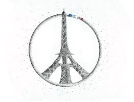 Pray for Paris by PixieBMTH