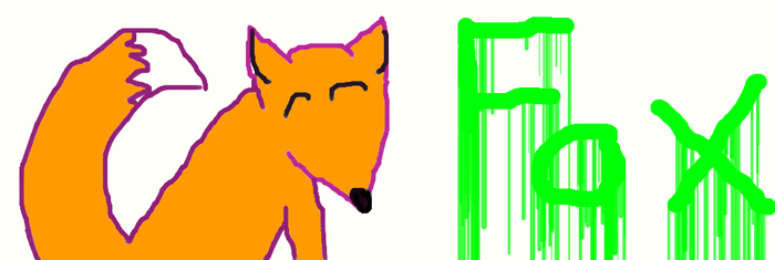 a Fox :D by Wolfpaint776
