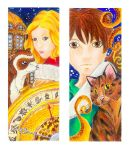 His Dark Materials Bookmark by SoullessMelody