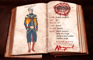 OW: Rowen Magnard 4th Application by konrei-sama