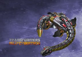 Transformers Fall of Cybertron Paddles by ps2105