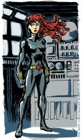 Black Widow by TheCosmicBeholder