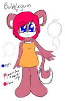 Adoptable: Bubblegum by CharCharCommish