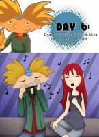 Hey Arnold Drawing Challenge 6 by Wolfs-Angel17