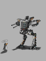 A robot by TheMihic