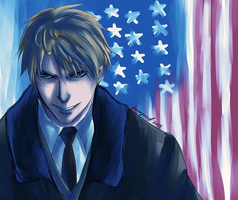 Hetalia- America: Uncle Sam by stirringwind