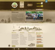 Mississippi Pecan Festival Website by HappyCatfishWeb