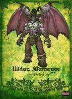 Illidan Stormrage-Demon by Hilson-O