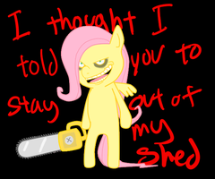 Stay out of my Shed by Pikadventures